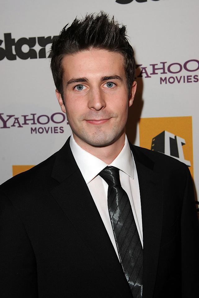 Tyler Langdon attends the 14th Annual Hollywood Awards Gala at the Beverly Hilton Hotel on October 25, 2010.