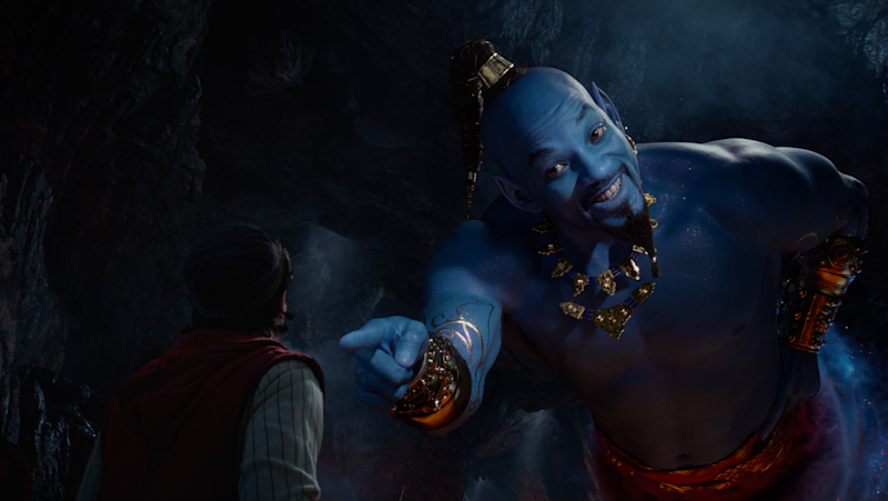Visual de Will Smith como Gênio em remake de 'Aladdin' divide o público
