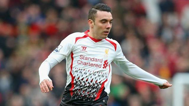 Iago Aspas during his unhappy spell with Liverpool