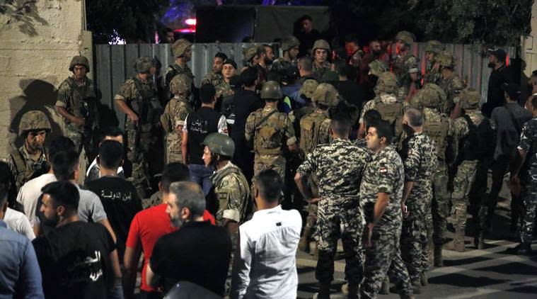 Large explosion shakes Hezbollah stronghold in south Beirut