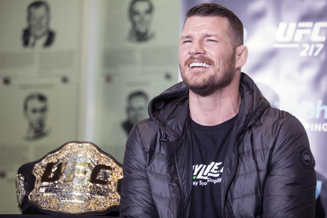 Would a win over Georges St-Pierre finally get Michael Bisping the credit he says he deserves? (Getty)