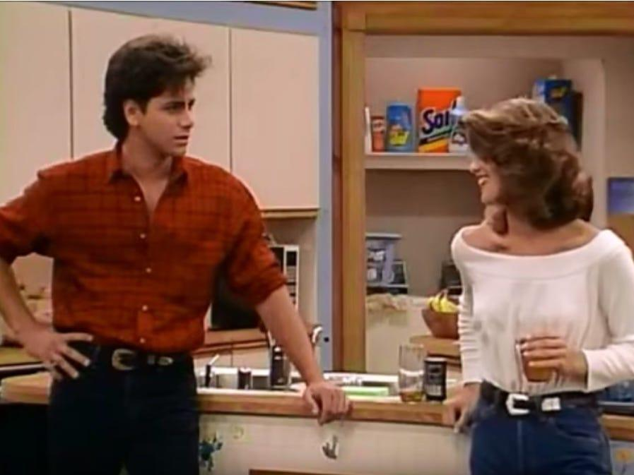 Full House Jesse and Becky