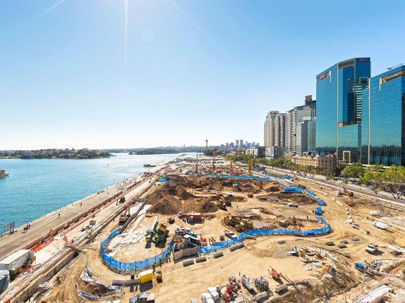 Thiess wins $154m Barangaroo contract