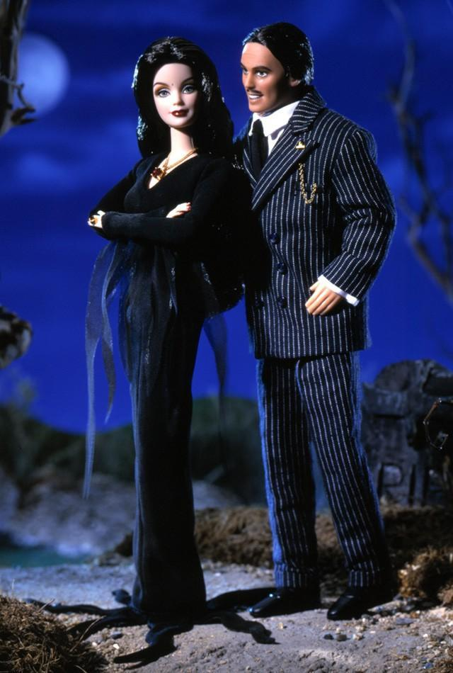 "<div class=""caption-credit""> Photo by: barbiecollector.com</div><b>""The Addams Family"" doll set, released in 2000 for $79</b> <br> Barbie goes goth. Nice mustache, Gomez."