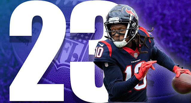<p>The Texans outgained the Titans 437-283. They didn't play that bad. But 0-2 is all that really matters. (DeAndre Hopkins) </p>