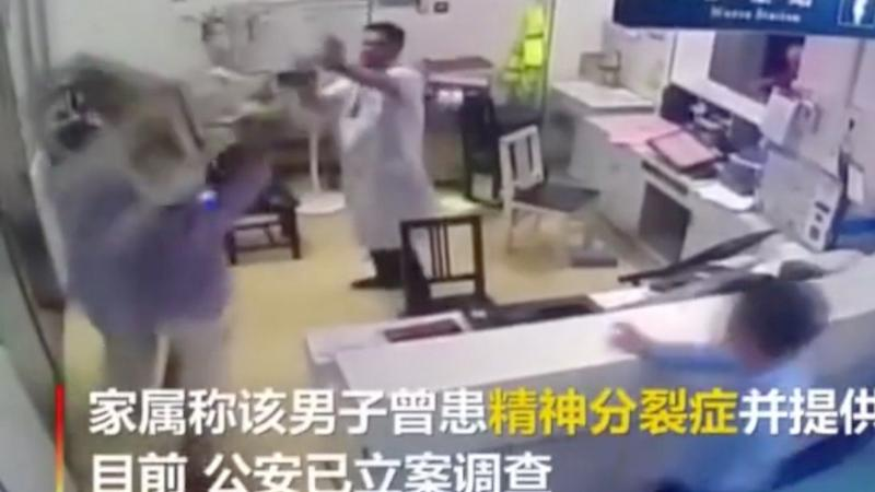 Chinese government worker detained for attack that left doctor needing hospital treatment