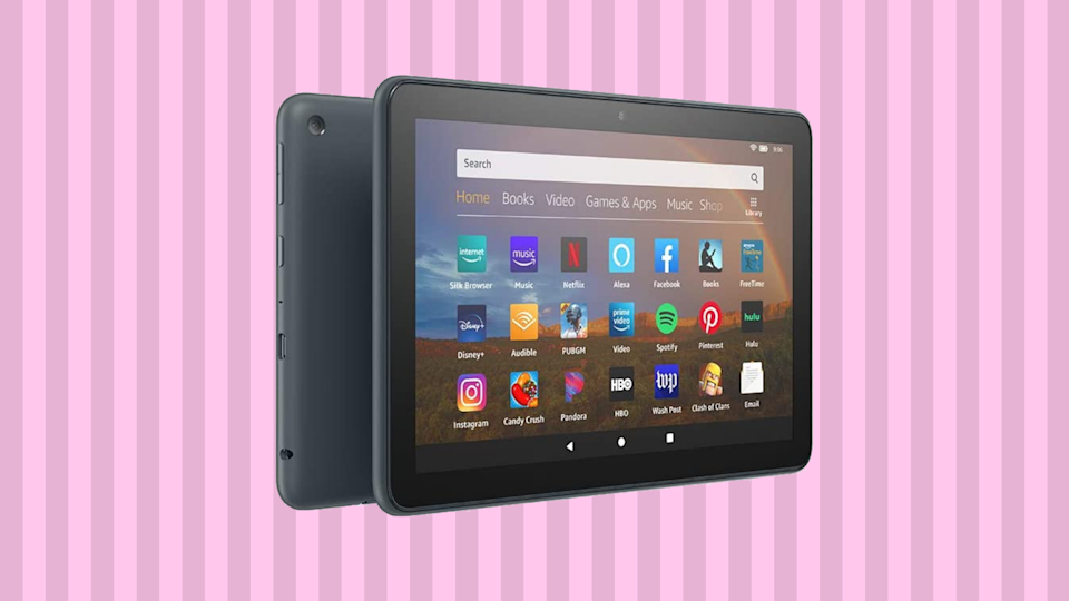Save $25 on the Fire HD 8 Plus tablet. (Photo: Amazon)