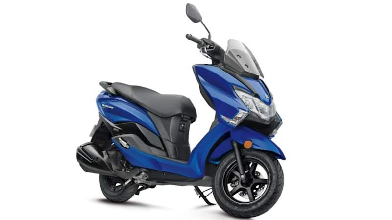Suzuki Burgman Street (in blue shade) launched at Rs. 80,000