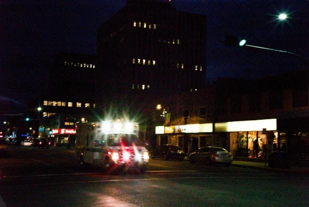 The City of Yellowknife says emergency responders are receiving a high volume of calls and is asking residents to make sure they need an ambulance when they call for one. (Walter Strong/CBC - image credit)