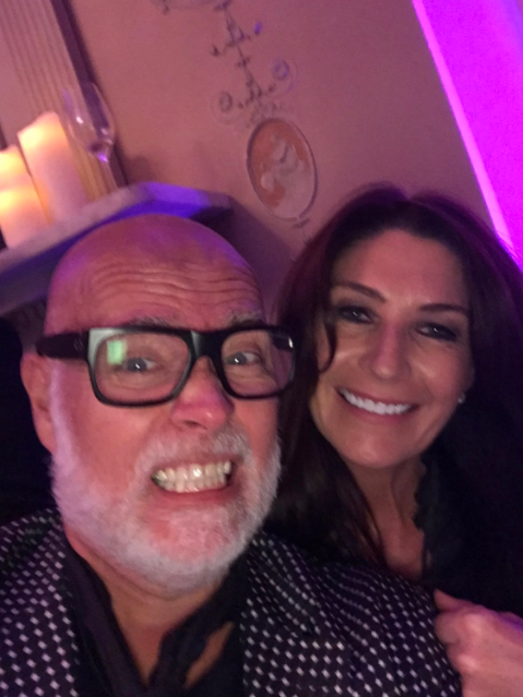 Hours before the attack, Gary posted a selfie with Julie-Ann at the event in London. Photo: Twitter