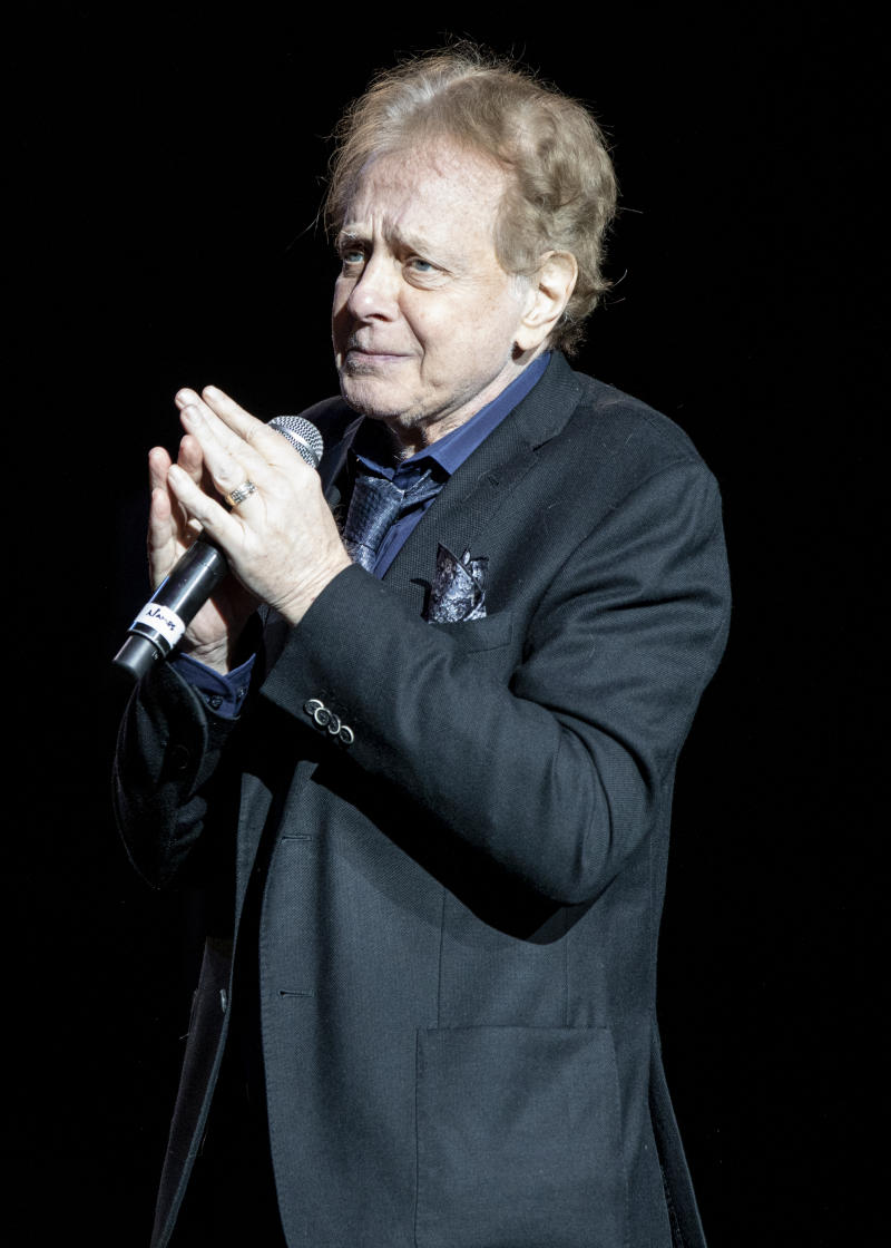 CLARKSTON, MICHIGAN - MAY 25: Eddie Money performs at DTE Energy Music Theater on May 25, 2019 in Clarkston, Michigan. (Photo by Scott Legato/Getty Images)