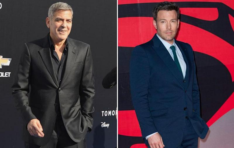George Clooney (L) and Ben Affleck (R) have both spoken out, condemning Weinstein and his behaviour. Source: Getty