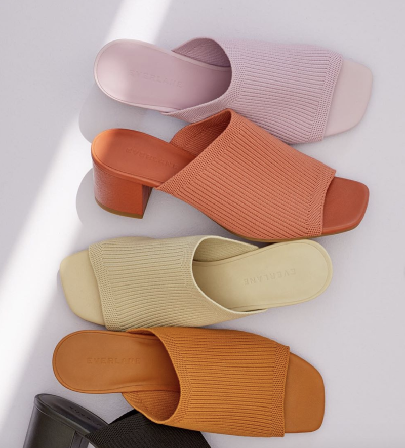 Everlane's ReKnit Glove Mule comes in five sunmer-ready hues.