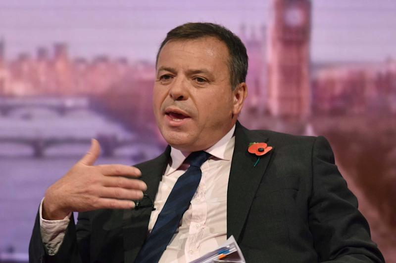 Allegations: Arron Banks is under investigation over cash donated to a pro-Brexit campaign group (REUTERS)