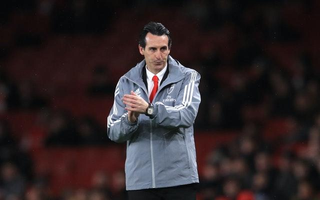 Unai Emery's Arsenal tenure ended in December following a string of poor results.