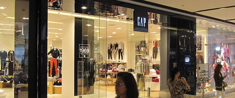 Gap store in a mall
