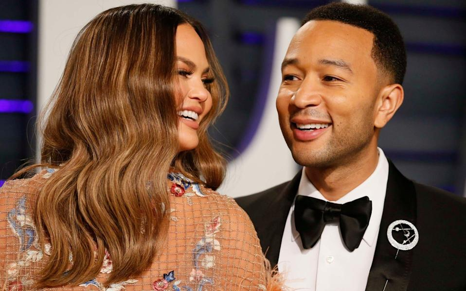 Chrissy Teigen and John Legend were commended by many for sharing such an intimate moment of their life - Danny Moloshok/Reuters