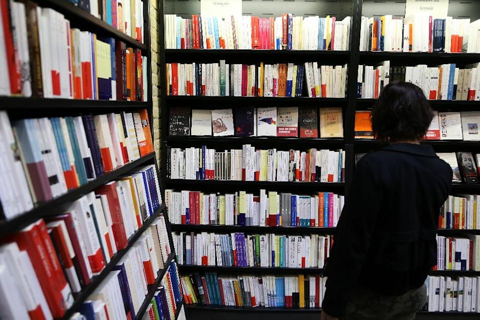 US appeals panel rejected the arguments of the Authors Guild, several prominent writers and leading publishers that the Google Books program and its Library Project would eat into their earnings (AFP Photo/Charly Triballeau)