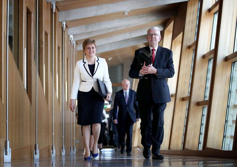 Former SNP MSP Mike Russell said independence should be the target for a 'new normal' (Jane Barlow/PA) (PA Archive)