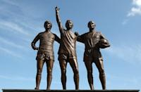 Denis Law is the only man to have two statues dedicated to him at Old Trafford, including being part of the United Trinity in-between George Best and Sir Bobby Charlton