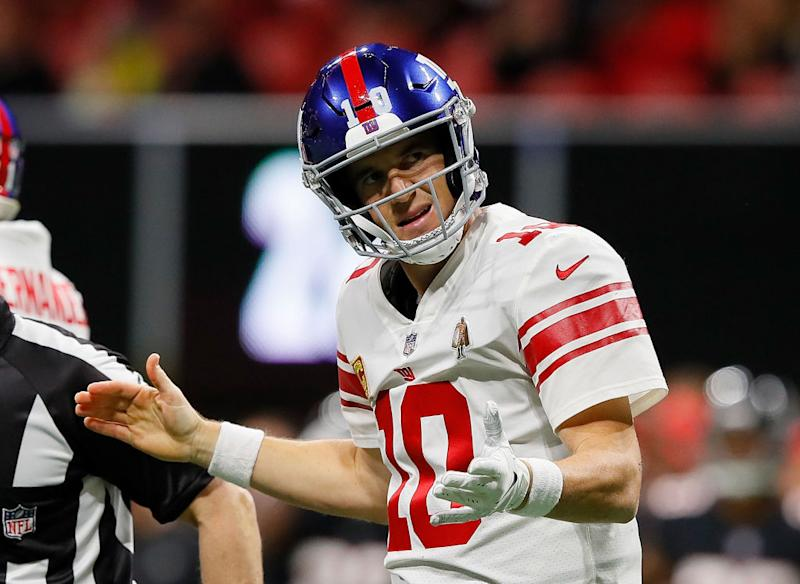 Eli Manning Is Experiencing A Frustrating Year Getty