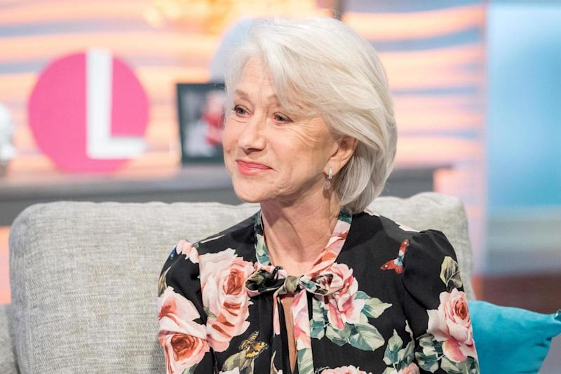 'Volcanic explosion': Helen Mirren has shared her thoughts on change in the movie industry (Rex Features)