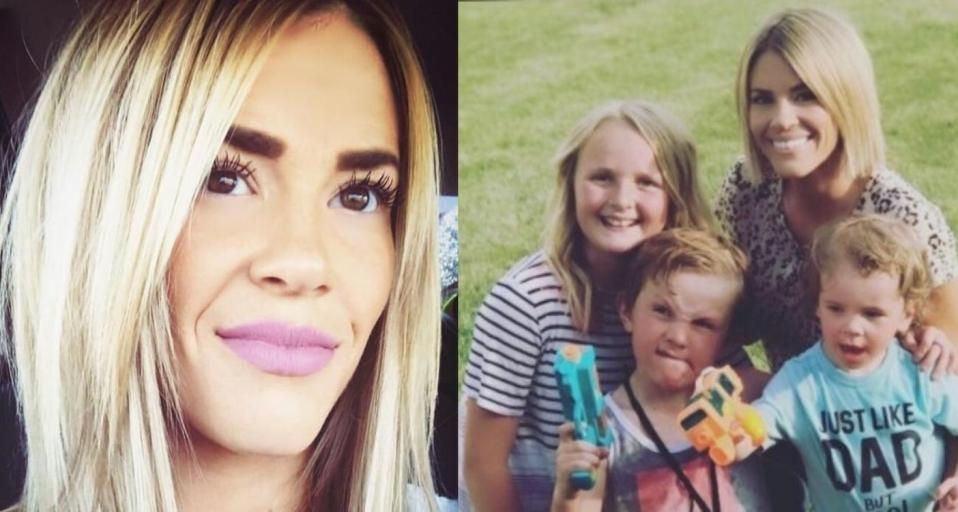 Chaylie Holmgren, 28, of Logan, Utah died by suicide on May 17. (Images via Rudd Funeral Home/GoFundMe).