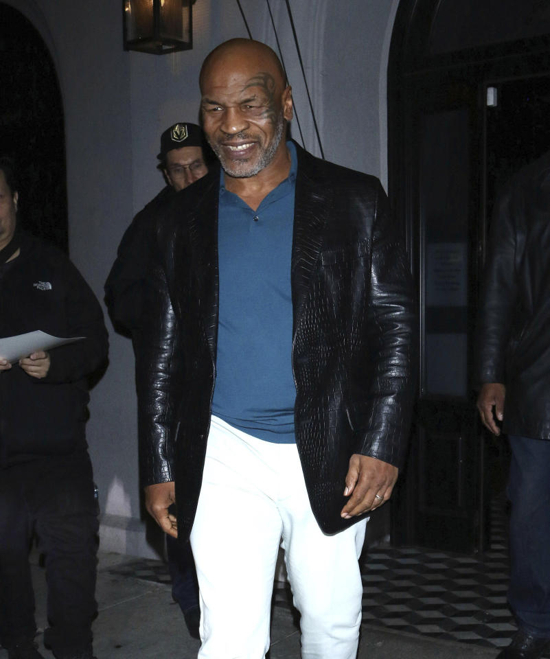 Photo by: OGUT/STAR MAX/IPx 2020 3/11/20 Mike Tyson is seen in Los Angeles, CA.