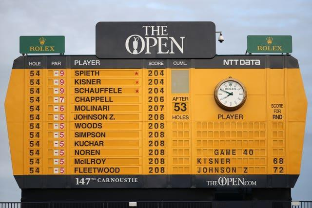 The Open, one of golf's most coveted and distinctive events, was not held in 2020