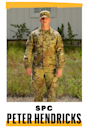 <p><strong>Hometown:</strong> Grand Rapids, Michigan<br><strong>Position:</strong> Audiovisual technician</p><p><strong>I WAS ABOUT</strong> 17 when I enlisted. College was a big factor. I wanted to be able to pay for that and not be up to my eyeballs in debt. There's this perception that people join the military because they don't have any options or didn't get good grades. I was pretty much a straight-A student.Military culture is very different from the civilian world in that you can really get roasted by your coworkers. But I've not regretted joining the Army. I just had my first deployment in Qatar. My goal is to get a top-secret clearance and a bachelor's degree. With that, I'd be able to work for a lot of different high-level government jobs. I got a lot of decisions to make.</p>