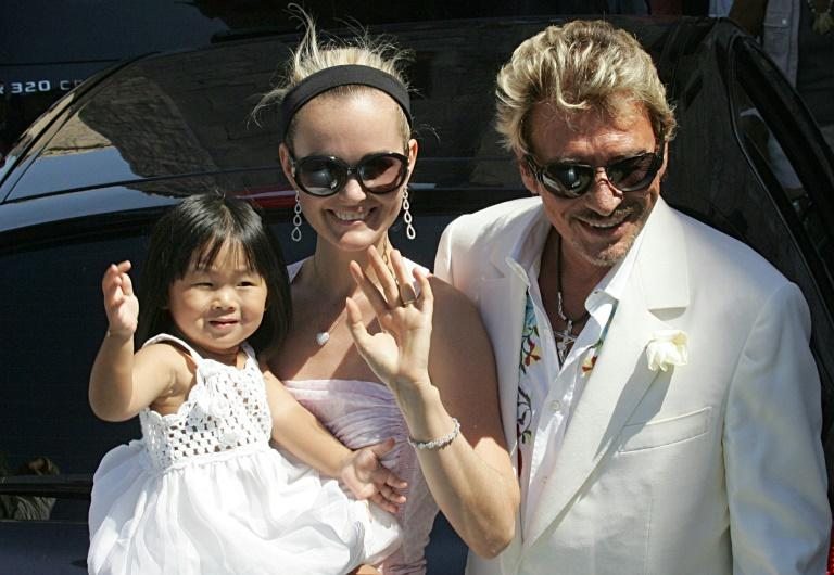 Hallyday married model Laeticia Boudou, who was 31 years his junior, and adopted two Vietnamese children