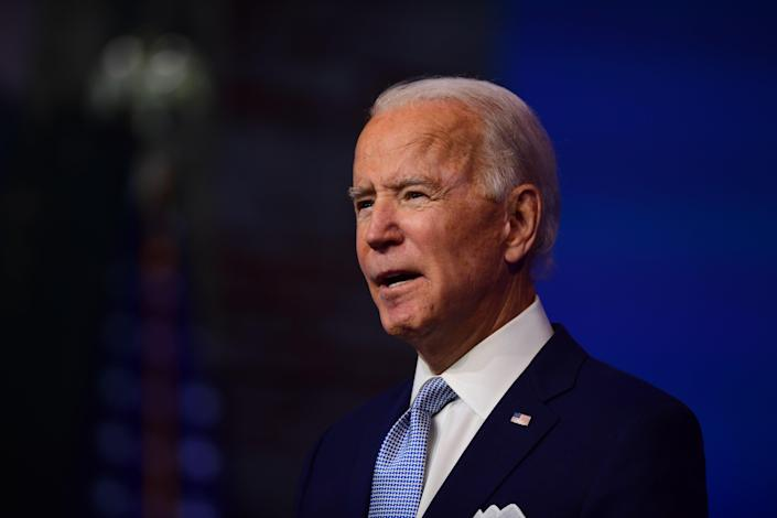 Joe Biden has been given permission by the White House to start getting top-secret national security briefings (Getty Images)