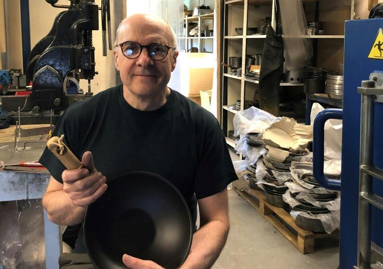 """The recent post-Brexit trade deal struck between the EU and Britain is """"a barrier to sell, an additional wall"""", says Neil Currie, managing director of Netherton Foundry, which makes traditional iron and copper cookware in Shropshire, western England."""