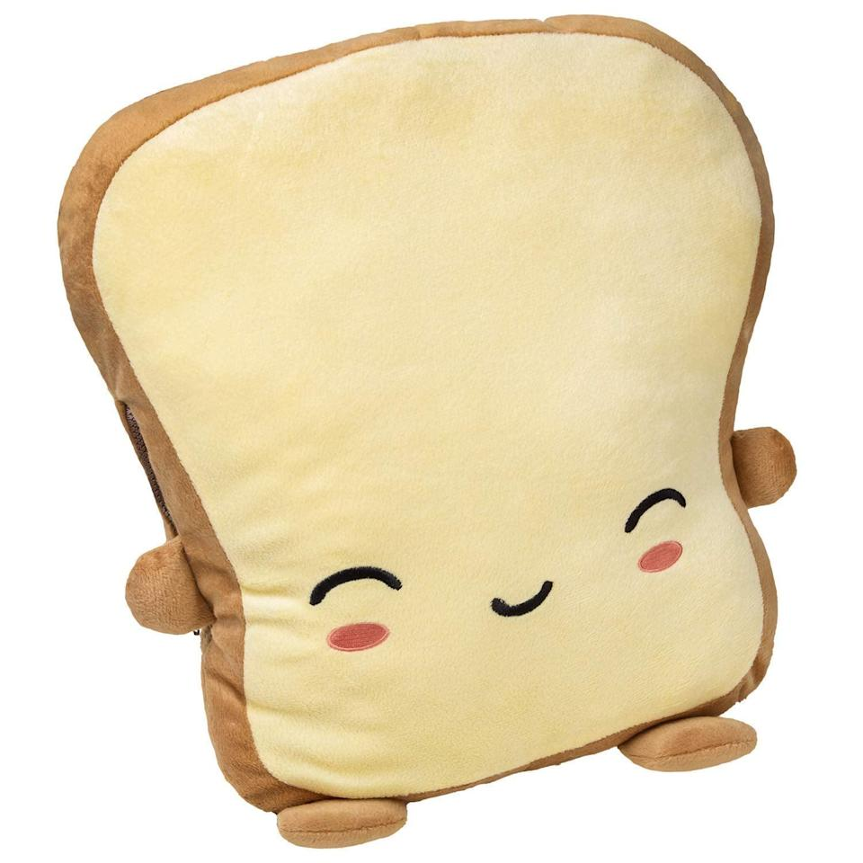 "<p>This <a rel=""nofollow noopener"" href=""https://www.popsugar.com/buy/Toast%20Pillow%20Warmer-366336?p_name=Toast%20Pillow%20Warmer&retailer=amazon.com&price=38&evar1=moms%3Aus&evar9=45367395&evar98=https%3A%2F%2Fwww.popsugar.com%2Fmoms%2Fphoto-gallery%2F45367395%2Fimage%2F45367428%2FToast-Pillow-Warmer&list1=holiday%2Cgift%20guide%2Cparenting%20gift%20guide%2Cgifts%20for%20kids%2Ckid%20shopping%2Ctweens%20and%20teens%2Cgifts%20for%20teens&prop13=desktop&pdata=1"" target=""_blank"" data-ylk=""slk:Toast Pillow Warmer"" class=""link rapid-noclick-resp"">Toast Pillow Warmer</a> ($38) is the ultimate cold-weather accessory.</p>"