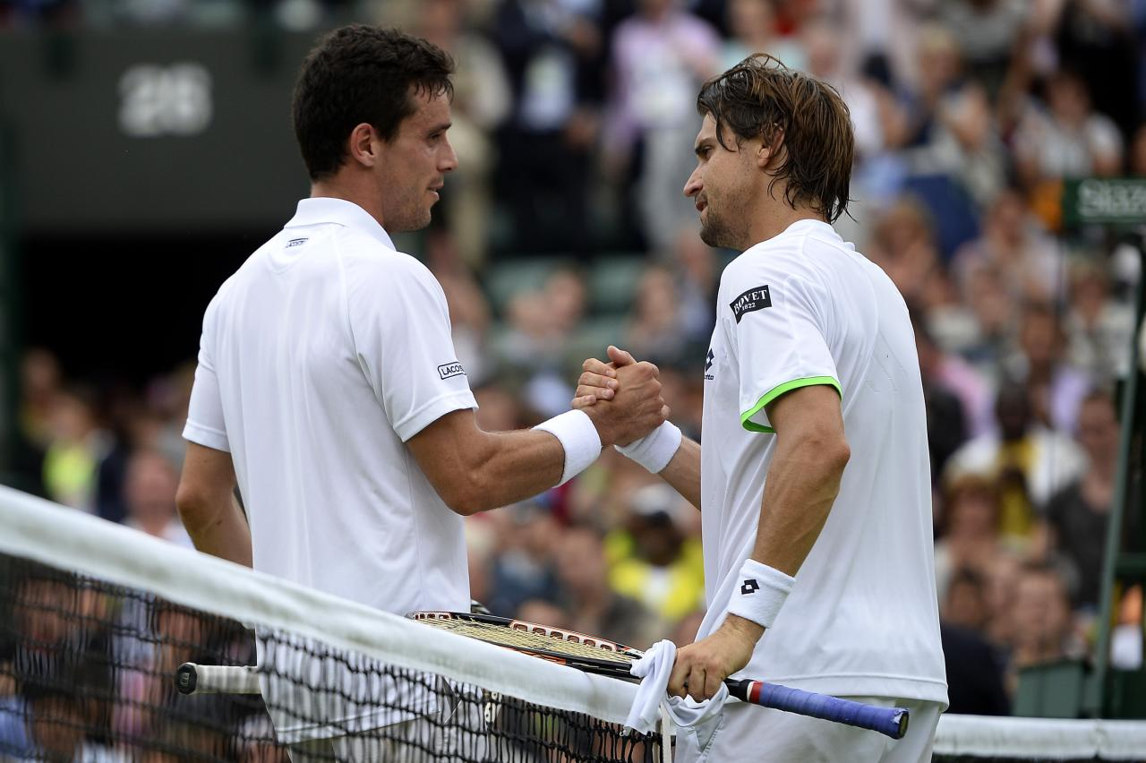 Wimbledon 2013: Day 5 in Pictures