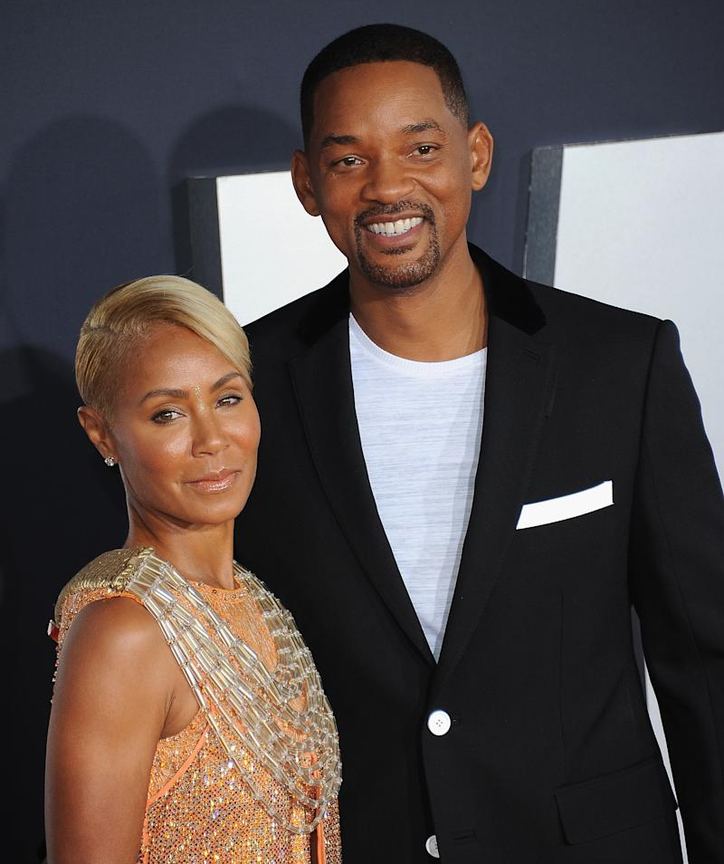 "Jada Pinkett Smith opens up during Red Table Talk about having ""lost herself"" while supporting Will Smith's career. (Photo: Getty Images)"