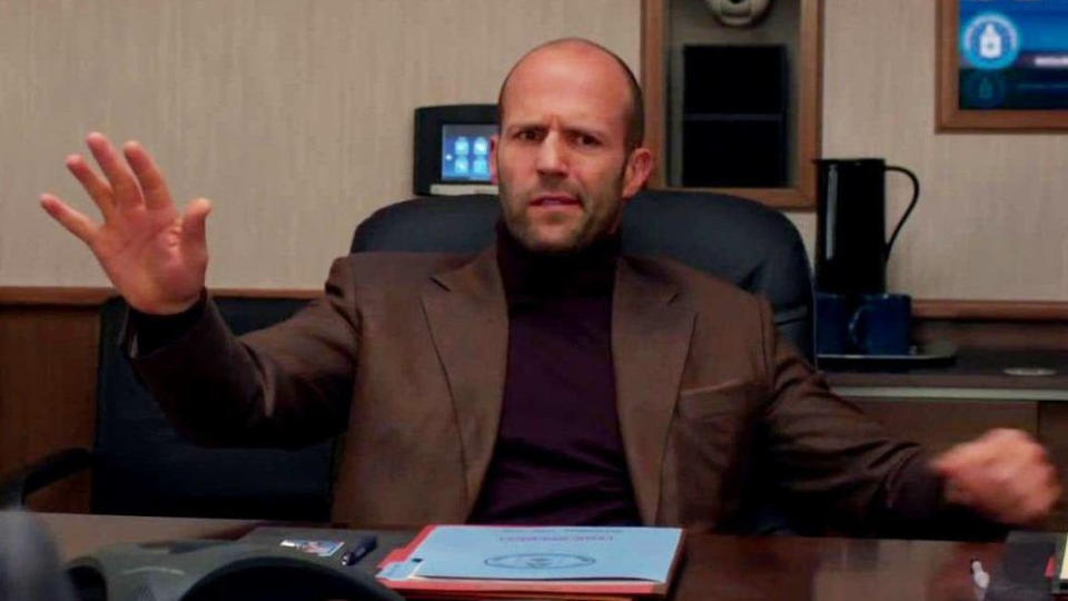 Jason Statham stole the show with his comedy performance in 'Spy'. (20th Century Studios)