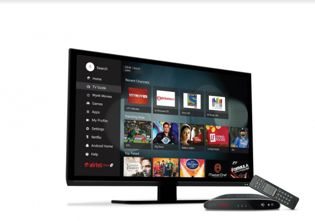 Airtel Internet TV, Android,Netflix,YouTube