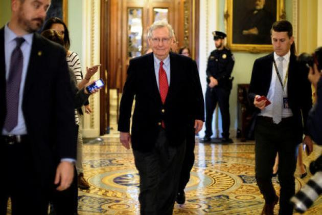 Senate Republicans pin down votes to pass tax bill: McConnell