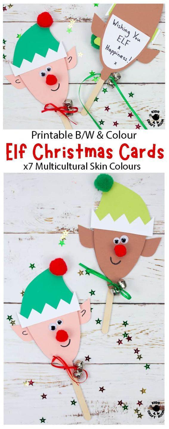 """<p>Though they won't fit in a standard envelope, these silly elves make a great gift topper or card for teachers. </p><p><em>Get the tutorial at <a href=""""https://kidscraftroom.com/puppet-elf-christmas-cards/"""" rel=""""nofollow noopener"""" target=""""_blank"""" data-ylk=""""slk:Kids Craft Room"""" class=""""link rapid-noclick-resp"""">Kids Craft Room</a>.</em> </p><p><a class=""""link rapid-noclick-resp"""" href=""""https://www.amazon.com/Korlon-Sticks-Wooden-Popsicle-Length/dp/B01EFGEIR0/?tag=syn-yahoo-20&ascsubtag=%5Bartid%7C10072.g.34351112%5Bsrc%7Cyahoo-us"""" rel=""""nofollow noopener"""" target=""""_blank"""" data-ylk=""""slk:SHOP CRAFT STICKS"""">SHOP CRAFT STICKS</a></p>"""