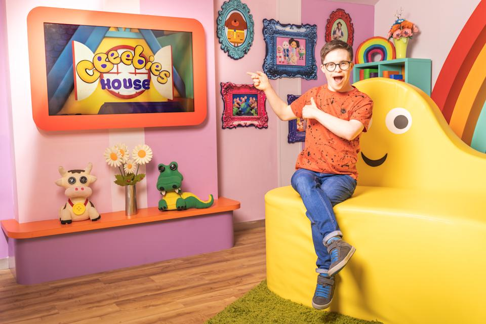 George Webster is joining the CBeebies House presenting team. (BBC)
