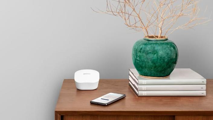 A mesh WiFi system is great for extending your home's WiFi.