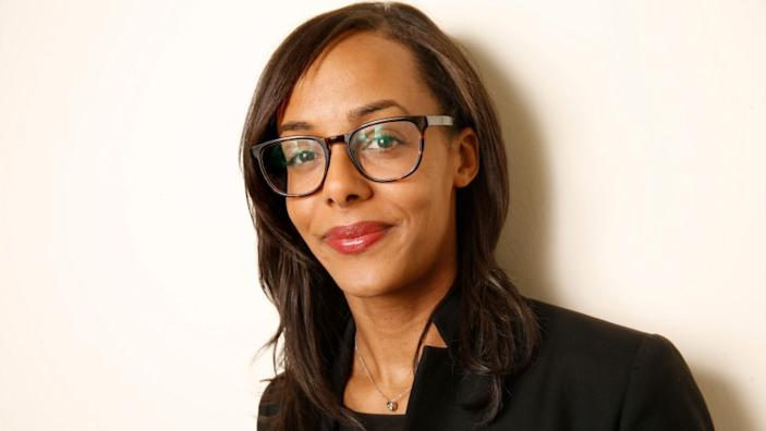 "Lisa Lucas, executive director of the National Book Foundation and soon-to-be publisher at Pantheon and Schocken Books. <span class=""copyright"">(Carolyn Cole / Los Angeles Times)</span>"