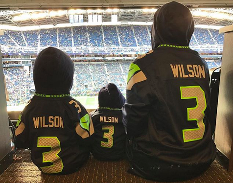 "<p>It was #SundayFunday for Russell Wilson's biggest fans! Ciara posted this cute shot with her son, Future, 3, and daughter, Sienna, 5 months, at the Seahawks vs. Colts game. ""We're so proud of you @DangeRussWilson! #GoHawks #3,"" she cheered. (Photo: <a href=""https://www.instagram.com/p/BZu3rFinE8O/?taken-by=ciara"" rel=""nofollow noopener"" target=""_blank"" data-ylk=""slk:Ciara via Instagram"" class=""link rapid-noclick-resp"">Ciara via Instagram</a>) </p>"
