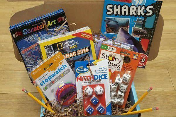 <span>MyEduCrate</span> delivers educational themed items to motivate and engage your 6-11 year old child's growing mind. <span>Each box</span> will include learning challenges, hands on learning materials, resources selected by certified teachers, and non-fiction readers.