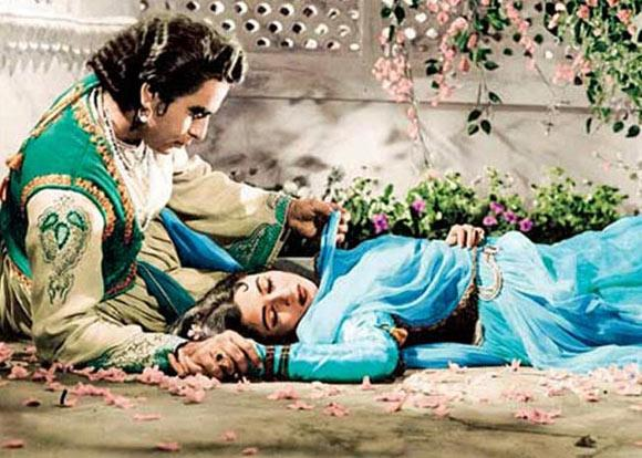 K Asif took a decade to complete his masterpiece, but every second of those 10 years were worth it. Even after 50 years, <em>Mughal-e-Azam</em> remains to be a masterpiece to be treasured by generations to come. As the prince, Dilip <em>sahab</em> had to compete with Prithviraj Kapoor not only as the rebellious son he essayed, but also as an actor against another of equal if not greater brilliance.  The opulence of Asif's aesthetics blended impeccably with the enthralling beauty of the courtesan played by Madhubala, the subtlety of <em>Salim </em>and the rage of <em>Akbar</em>, to produce India's first magnum opus.