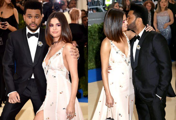 Selena Gomez and The Weeknd bring their PDA tour to NYC. (Photo: Getty Images/BACKGRID)