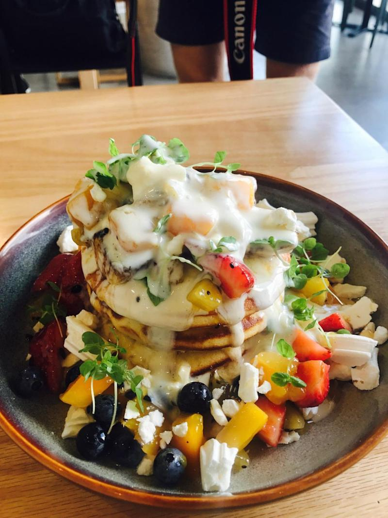 The Australia Day special menu item is here to say after going viral on the Interwebs. Photo: Carly Willaims/Be
