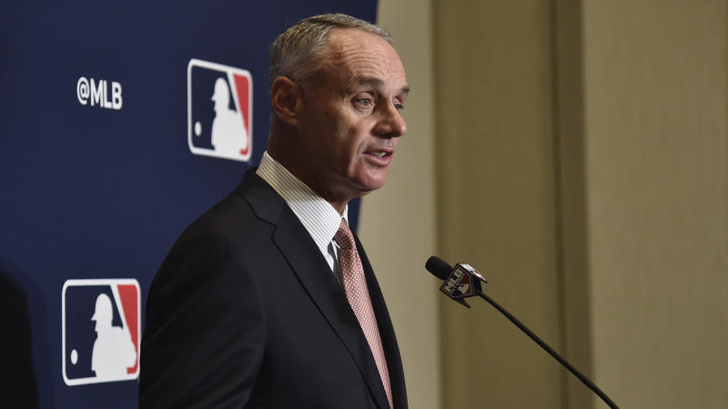 Rob Manfred says MLB could cancel season if coronavirus does not pass