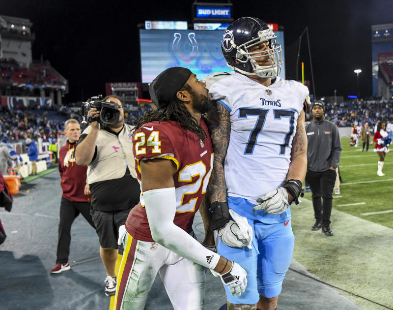 f47aac7e6 Josh Norman rips into Taylor Lewan after postgame spat